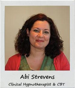 Abi Strevens Clinical Hypnotherapist