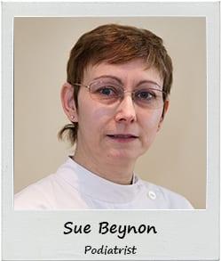 Sue Beynon Podiatrist