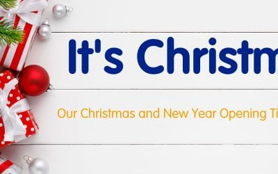 It's Christmas! – Opening Hours